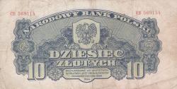 Imaginea #1 a 10 Zlotych 1944