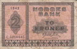 Imaginea #1 a 2 Coroane 1943