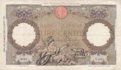 Image #1 of 100 Lire 1943 (23. VIII.)