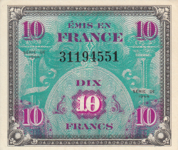 Image #1 of 10 Francs 1944