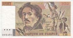Image #1 of 100 Francs 1983