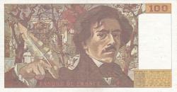 Image #2 of 100 Francs 1983
