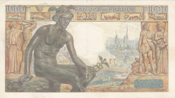 Image #2 of 1000 Francs 1942 (5. XI.)
