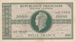 Imaginea #1 a 1000 Franci ND (1944)