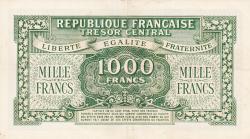 Imaginea #2 a 1000 Franci ND (1944)