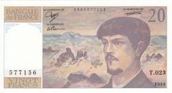 Image #1 of 20 Francs 1988