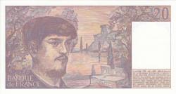 Image #2 of 20 Francs 1988