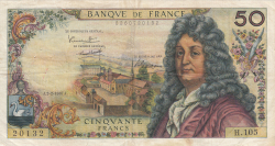 Image #1 of 50 Francs 1967 (2. II.)