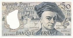 Image #1 of 50 Francs 1988