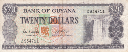 Image #1 of 20 Dollars ND (1966-1989)
