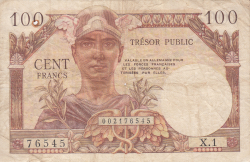 Image #1 of 100 Francs ND (1955)