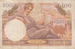 Image #2 of 100 Francs ND (1955)