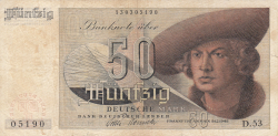 Image #1 of 50 Deutsche Mark 1948 (9. XII.)