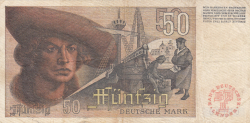 Image #2 of 50 Deutsche Mark 1948 (9. XII.)