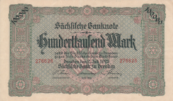 Image #1 of 100 000 Mark 1923 (2. VII)