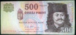 Imaginea #1 a 500 Forint 2008