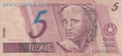 Image #1 of 5 Reais ND (1997-2011)