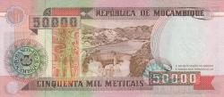 Image #2 of 50000 Meticais 1993 (16. VI.)