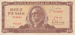 10 Pesos 1983