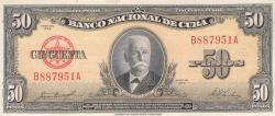 Image #1 of 50 Pesos 1958