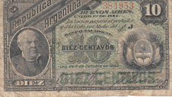 Image #1 of 10 Centavos 1884 (1. I.)