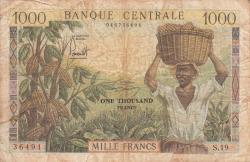 Image #1 of 1000 Francs ND (1962)