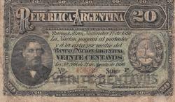 Image #1 of 20 Centavos 1891 (1. XI.)