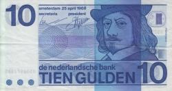 Image #1 of 10 Gulden 1968 (25. IV.)