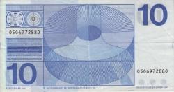 Image #2 of 10 Gulden 1968 (25. IV.)