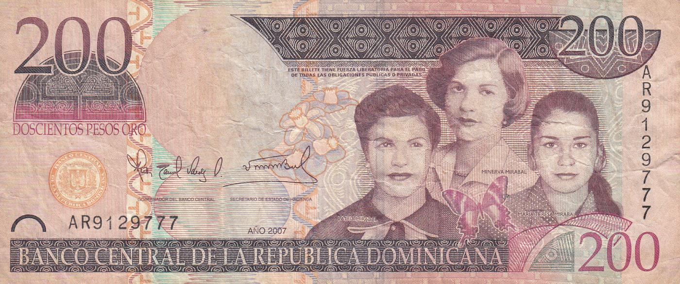 Coins & Paper Money Dominican Republic 500 Pesos Oro 2010 Unc