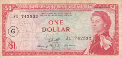 Image #1 of 1 Dollar ND (1965) - replacement note