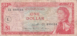 Image #1 of 1 Dollar ND (1965) - L