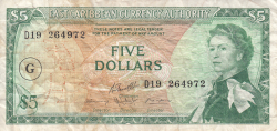 Image #1 of 5 Dollars ND (1965)