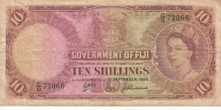 Imaginea #1 a 10 Shillings 1964 (1. IX.)