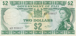 Image #1 of 2 Dollars ND (1969)