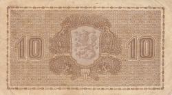 Imaginea #2 a 10Markkaa / Mark 1939 - semnături Heurlin / Alsiala