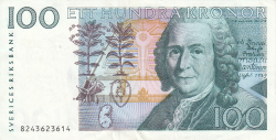 Image #1 of 100 Kronor (198)8