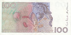 Image #2 of 100 Kronor (198)8