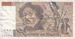 Image #1 of 100 Francs 1990