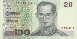 Image #1 of 20 Baht ND (2003) - signatures Somkid Chatursripitak / Preeyadhorn Dhevakul