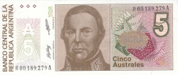 Image #1 of 5 Australes ND (1985-1989) - replacement