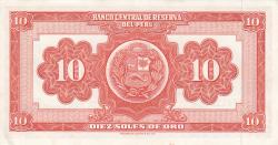 Imaginea #2 a 10 Soles de Oro 1968 (23. II.)