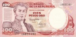 100 Pesos Oro 1991 (7. VIII.)