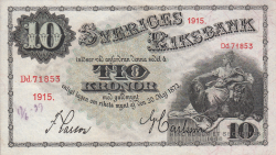 Image #1 of 10 Kronor 1915