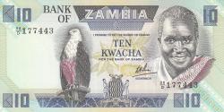 Imaginea #1 a 10 Kwacha ND (1980-1988)