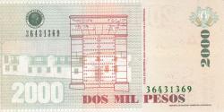 2000 Pesos 2014 (31. VII.)