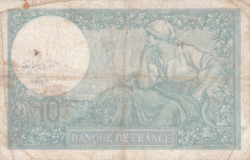 Image #2 of 10 Francs 1940 (12. XII.)