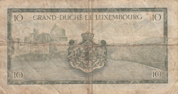 Image #2 of 10 Francs ND (1954)