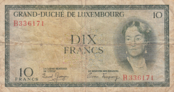 Image #1 of 10 Francs ND (1954)