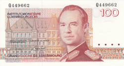 Image #1 of 100 Francs ND (1986)